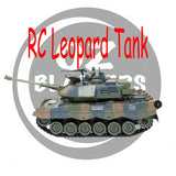 Leopard-2-Gel Blaster Toy RC Tank
