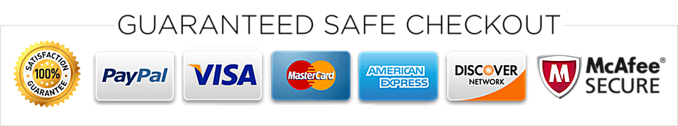 guaranteed safe checkout badges