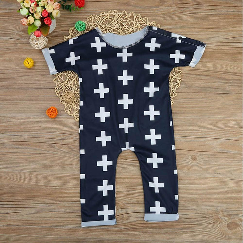 Boys' Plus Short Sleeves Romper