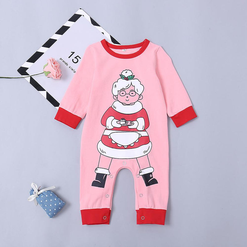 Baby Girls' Cute Grandma Long Sleeve Overall