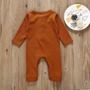 Solid Colored Long Sleeve Overall & Jumpsuit - davidissimo