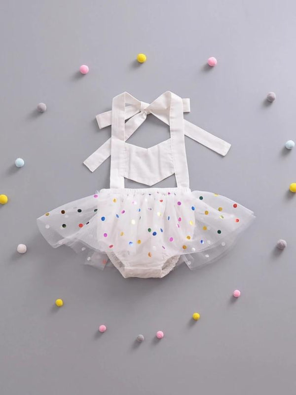 Baby Girls' Sweet Ballerina Sleeveless Bodysuit