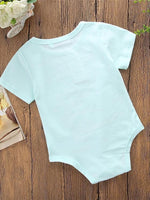 Baby Girls' Little Mermaid Short Sleeves Bodysuit - davidissimo