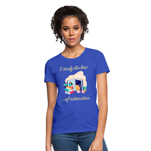 Law of Attraction T-Shirt - royal blue
