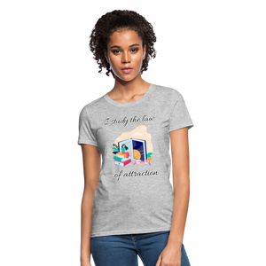 Law of Attraction T-Shirt - heather gray