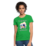 Law of Attraction T-Shirt - bright green