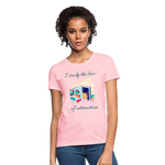 Law of Attraction T-Shirt - pink