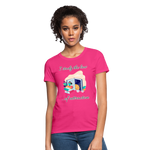 Law of Attraction T-Shirt - fuchsia