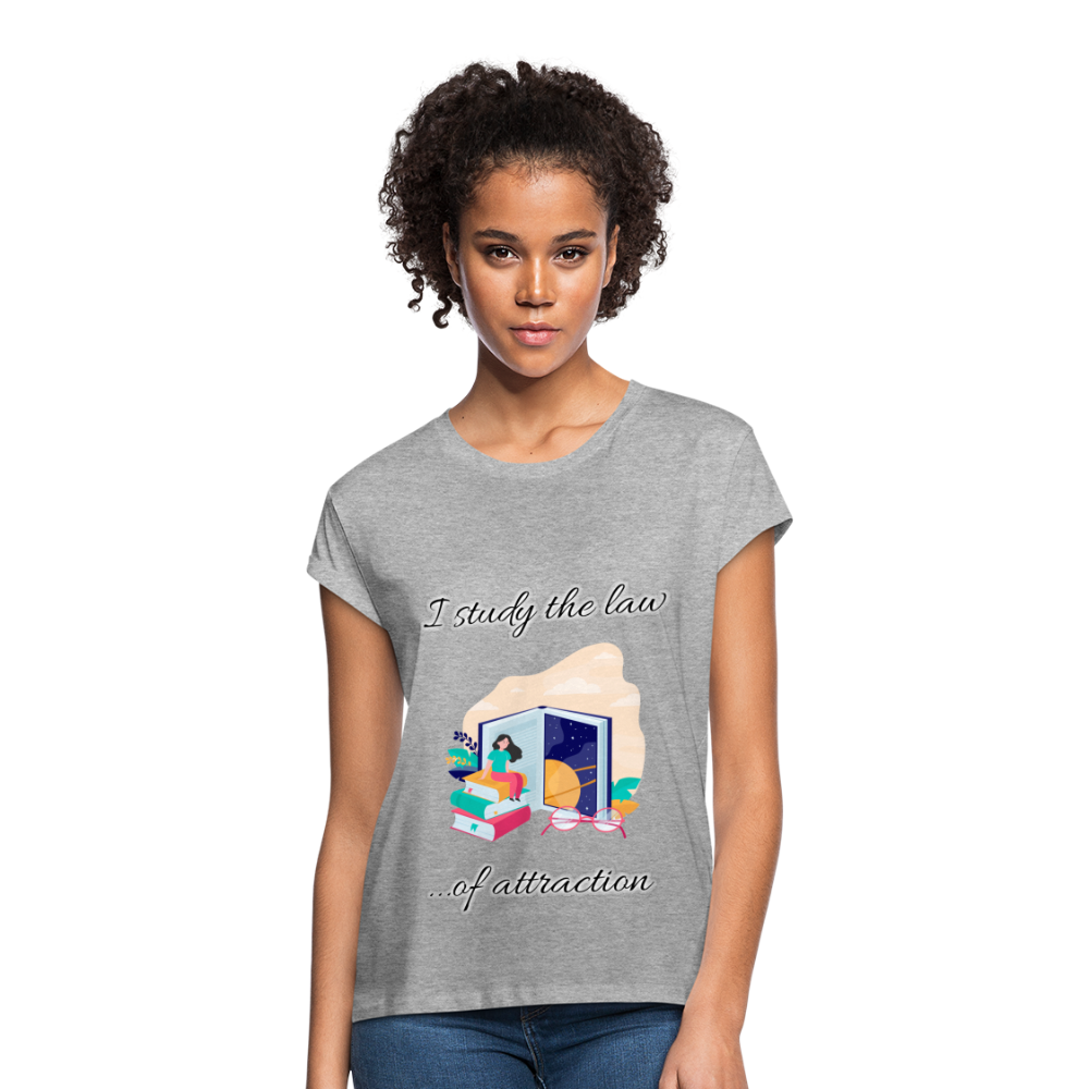 Law of Attraction Relaxed Fit T-Shirt - heather gray