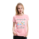 Start Your Day With Gratitude Premium T-Shirt - pink