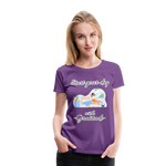 Start Your Day With Gratitude Premium T-Shirt - purple