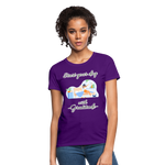 Start Your Day With Gratitude T-Shirt - purple