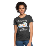 Start Your Day With Gratitude T-Shirt - heather black