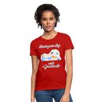 Start Your Day With Gratitude T-Shirt - red