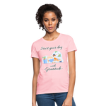 Start Your Day With Gratitude T-Shirt - pink