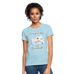 Start Your Day With Gratitude T-Shirt - powder blue