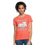 Start Your Day With Gratitude T-Shirt - heather coral