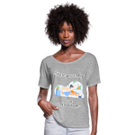 Start Your Day With Gratitude Flowy T-Shirt - heather gray