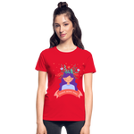 Thoughts Become Things Ultra Cotton Ladies T-Shirt - red