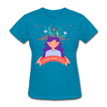 Thoughts Become Things Classic T-Shirt - turquoise