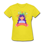 Thoughts Become Things Classic T-Shirt - yellow
