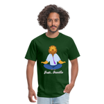 Meditation Lion Classic T-Shirt - forest green