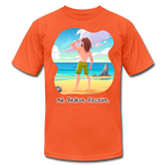Ask Believe Receive Jersey T-Shirt - orange