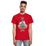 Inhale Love Exhale Gratitude Ultra Cotton Adult T-Shirt - red
