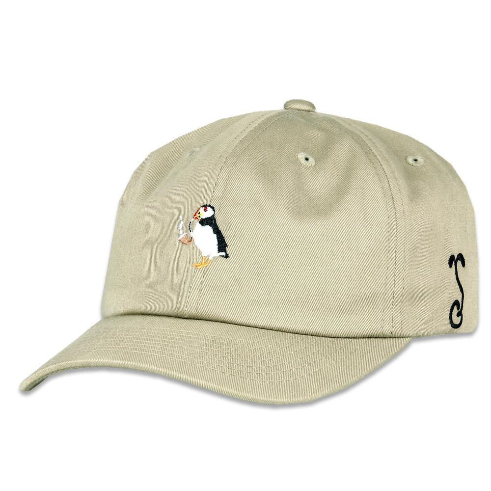 Grassroots - Puffin Pipe Khaki Dad Hat