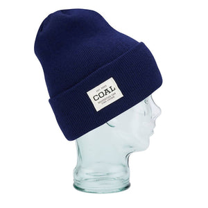 Coal - The Uniform Beanie in Midnight Blue color