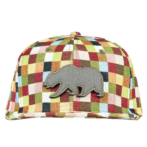 Grassroots - Removable Bear Patchwork Snapback