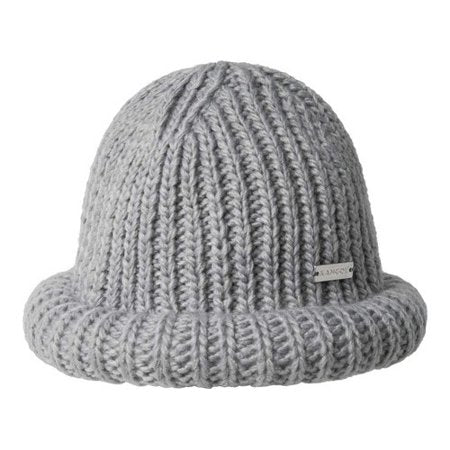 Kangol - Rolled Beanie Available in Black OR Grey