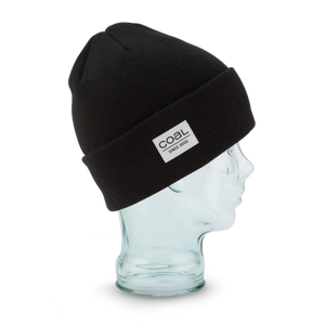 Coal - The Standard Black Beanie