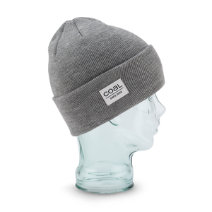 Coal - The Standard Heather Grey Beanie