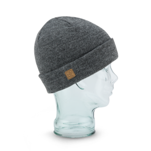 The Harbor Beanie in Grey