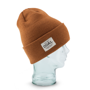 The Uniform Beanie in Brown color