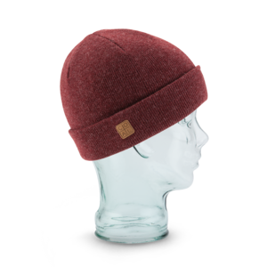 The Harbor Beanie in Burgandy