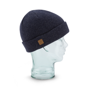 Coal - The Harbor Beanie in Navy