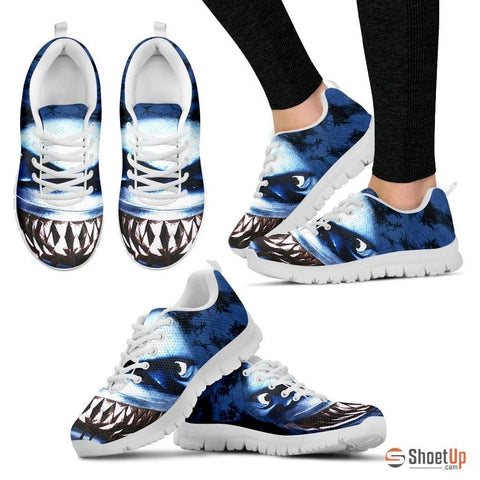 'Danger Looking Shark' Running Shoes(Men/Women)3D Print