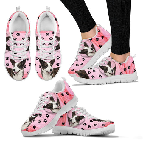 Valentine's Day Special-Cardigan Welsh Corgi Print Running Shoes For Women-Free Shipping