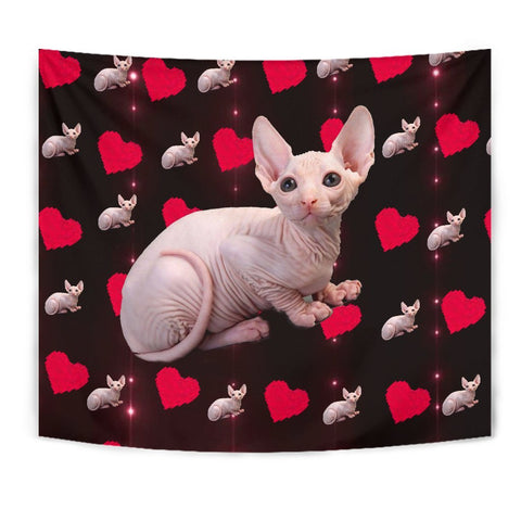 Sphynx Cat Print Tapestry-Free Shipping