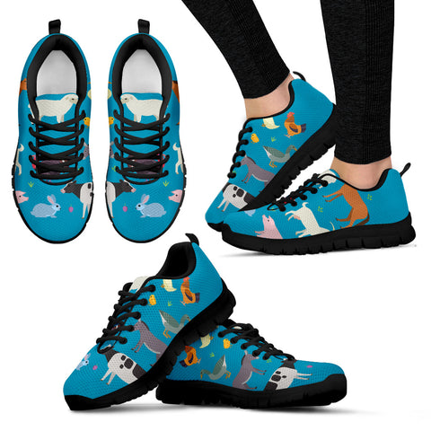 Animal Farm Lovers Women's Sneakers