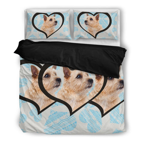 Valentine's Day Special-Norwich Terrier Print Bedding Set-Free Shipping
