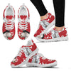 Percheron Horse Christmas Running Shoes For Women- Free Shipping