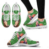 American Quarter Horse Print Christmas Running Shoes For Women- Free Shipping