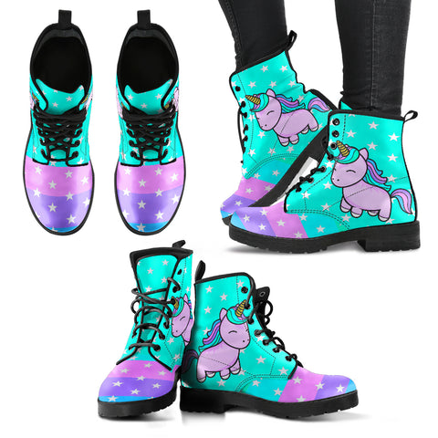 Unicorn Pastel Handcrafted Boots