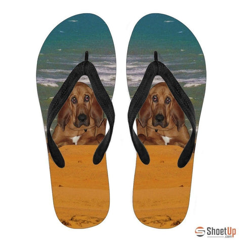 BloodHound Flip Flops For Men-Free Shipping