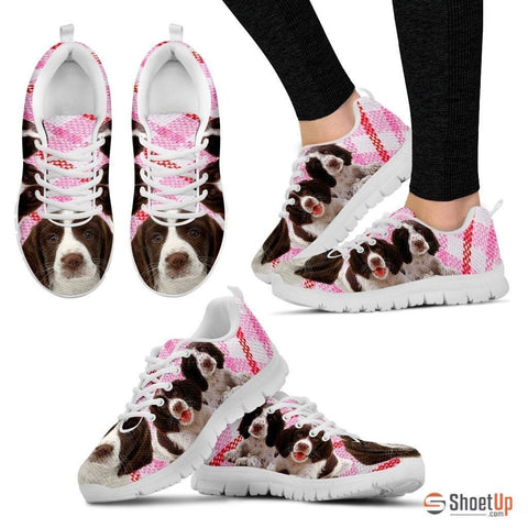 English Springer Spaniel-Dog Running Shoes For Women-Free Shipping
