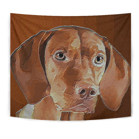 Amazing Vizsla Dog Print Tapestry-Free Shipping
