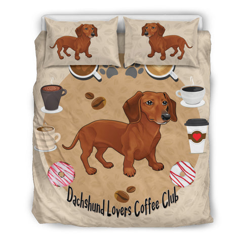 Dachshund Lovers Bedding Set for Lovers of Dachshunds